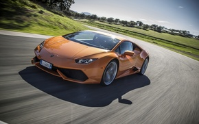 Обои Supercar, 2014, LP610-4, Lamborghini Huracan