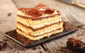 Картинка шоколад, сладости, торт, крем, десерт, сладкое, пряности, бисквит, анис
