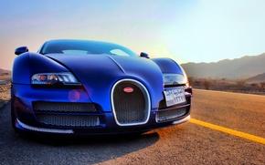 Обои veyron, bugatti, dubai, vitesse