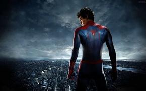 Картинка city, new york, Эндрю Гарфилд, the amazing spider man