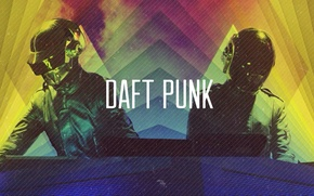 Картинка Музыка, Music, Daft Punk, Thomas Bangalter, Дафт Панк, Guy-Manuel de Homem Christo