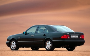 Картинка Mercedes-Benz, Mercedes, E-class, E-Klasse, 1995, E-класс, W210, Executivklasse, Лупатый, Глазастый, E230