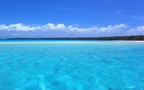 Обои the, Nature, Relax, Beach, beach