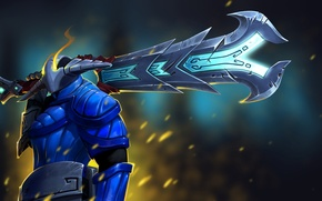 Картинка sword, Dota 2, Sven, The Rogue Knight