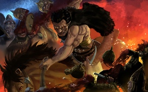Картинка undead, monster, anime, berserk, guts, zodd