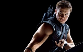 Обои Hawkeye, Jeremy Renner, Джереми Реннер, Соколинный Глаз, Мстители, фильм