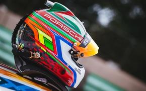 Картинка гонка, спорт, шлем, автомобиль