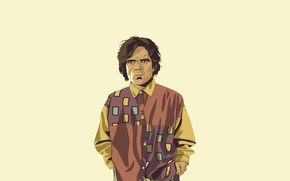 Картинка минимализм, рубашка, Game of Thrones, Игра престолов, Tyrion Lannister, Тирион Ланнистер