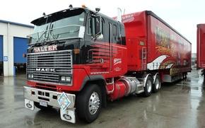 Картинка truck, mack, racing, тягач, фура, salter
