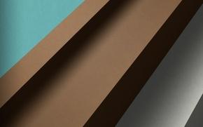 Картинка линии, серый, голубой, коричневый, material, Lollipop