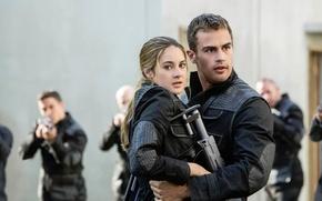 Картинка Theo James, Shailene Woodley, Divergent