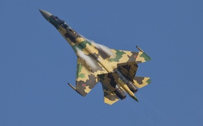 Обои истребитель, сухой, су-35с, ввс россии, su-35s