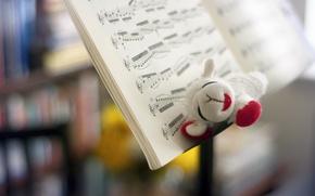 Картинка ноты, музыка, игрушка
