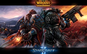 Картинка воин, World of Warcraft, Starcraft, десантник