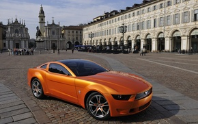 Картинка Mustang, Ford, Orange, Ford Mustang