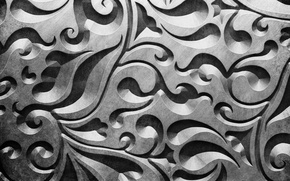 Картинка pattern, metal, metallic, background, texture, металл, узор, steel, silver