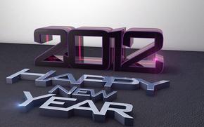Картинка праздник, новый год, 2012