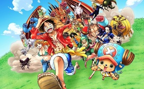 Картинка game, Chopper, One Piece, anime, Robin, captain, asian, shooter, manga, japanese, oriental, asiatic, Roronoa Zoro, …