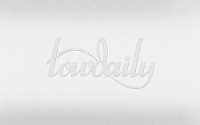 Картинка logo, white, lowdaily