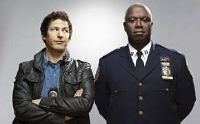 Картинка Fox, USA, police, New York, man, detective, series, captain, American, cast, TV series, comedy, United …