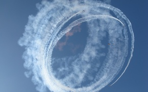 Обои небо, авиация, самолёты