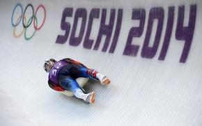 Картинка скорость, трасса, лёд, Россия, Сочи 2014, XXII Зимние Олимпийские Игры, Sochi 2014, sochi 2014 olympic …