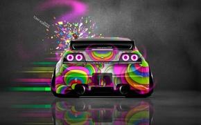 Картинка Pink, Неон, Игрушка, Стиль, Ниссан, GTR, Розовый, Nissan, Photoshop, Фотошоп, Style, Skyline, Neon, R34, ГТ-Р, …