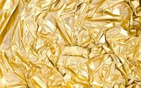 Картинка металл, сияние, золото, узор, рисунок, блеск, текстура, metal, texture, фольга, Gold, shine, tracery, radiance, foil