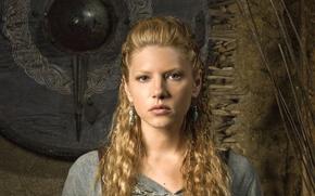 Картинка Vikings, Katheryn Winnick, Lagertha