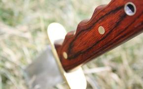 Картинка metal, wood, knife, handle, termination