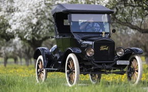 Обои 1923 Ford Model T, классика, ретро, Ford