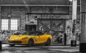Обои 2015, ruffer performance, chevrolet, corvette, stingray, hpe700, c7
