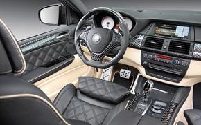 Картинка BMW, Lumma, передняя панель