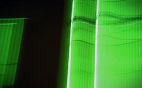Обои зеленый, неон
