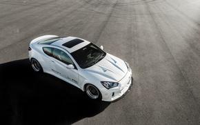 Картинка Hyundai, Coupe, вид сверху, Genesis, ARK Performance
