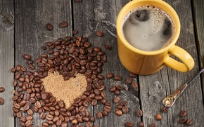 Обои cup, сердце, кофе, любовь, romantic, coffee, sweet, love
