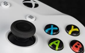 Обои игра, кнопки, джойстик, Xbox