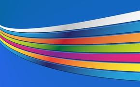 Обои радуга colourful backgrounds, цвета, полоски, линии, абстракция