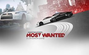 Картинка фон, надпись, гонки, need for speed most wanted 2