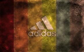 Обои знак, Adidas, цвет, полосы, адидас