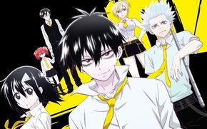 Картинка girl, blood, game, ghost, anime, pretty, man, boy, boss, Wolf, vampire, asian, cute, manga, hell, …