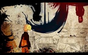 Обои наруто, планы, naruto, грусть, нарусасу, narusasu, sasunaru, предательство, сасунару, саске, sasuke