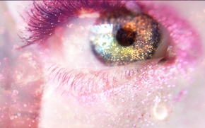 Обои глаз, фентези, арт