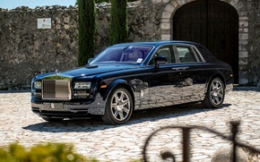 Картинка Черный, Rolls-Royce, Phantom, Машина, Desktop, Car, 2012, Автомобиль, Black, Wallpapers, New, Красивая, Фантом, Обоя, Automobile, …