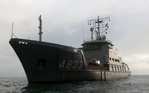 Картинка sea, Royal Dutch, navy rescue, Luymes, sea Denmark
