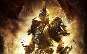 Обои armor, god of war, god, helmet, God of War Ascension
