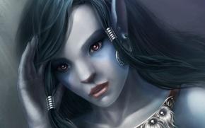 Картинка взгляд, лицо, portrait, Rina
