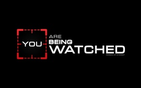 Картинка CBS, TV show, Person of interest, POI, You are being watched
