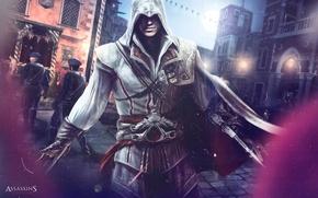 Обои города, Assassin's Creed 2, люди