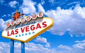 Обои Лас-Вегас, облака, Невада